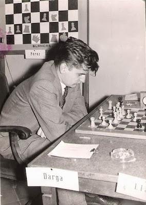 Partida Darga - Lladó en el Torneo Internacional de Ajedrez Tarragona 1957