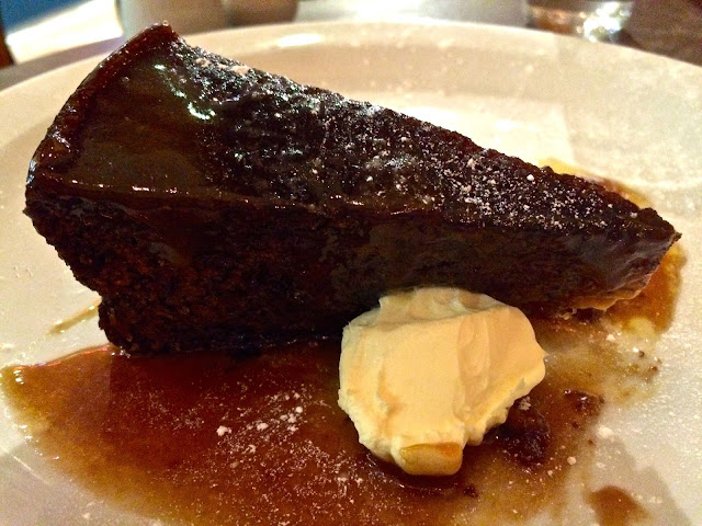 banana and salted butterscotch sticky pudding