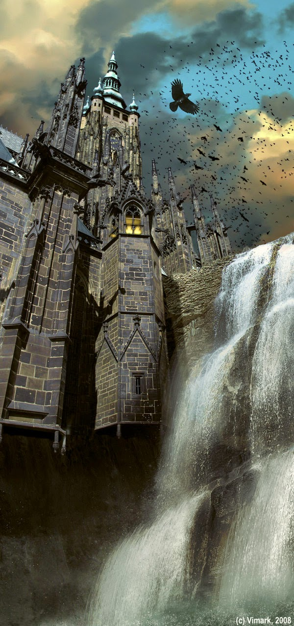 02-Dark-Castle-Max-Mitenkov-Paintings-of-Surreal-Post-Apocalyptic-Forgotten-Worlds-www-designstack-co