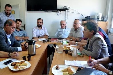 Reunão sobre o Fórum Social Mundial Palestina Livre