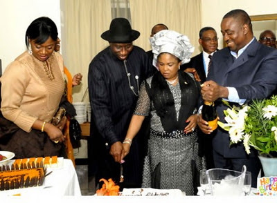 Pictures From First Lady Patience Jonathan Surprise BIrthday. 2