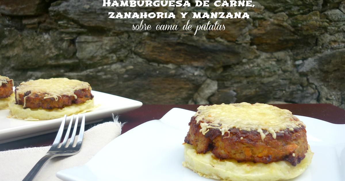 Cocina para burros hamburguesas de carne zanahoria y for Cama hamburguesa