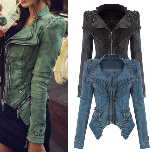 Fashionable Jeans Jackets for Ladies
