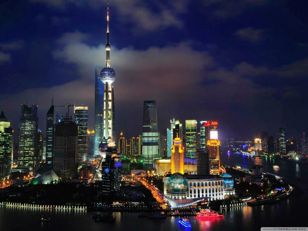 shanghai skyline wallpapers pictures - photo #7