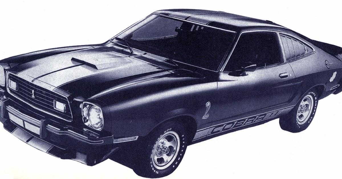 Phscollectorcarworld Mustang Ii Cobras Amp King Cobras 1976