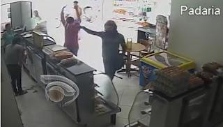 Panificadora que fica em frente ao prédio do 9º BPM é assaltada em Cuité