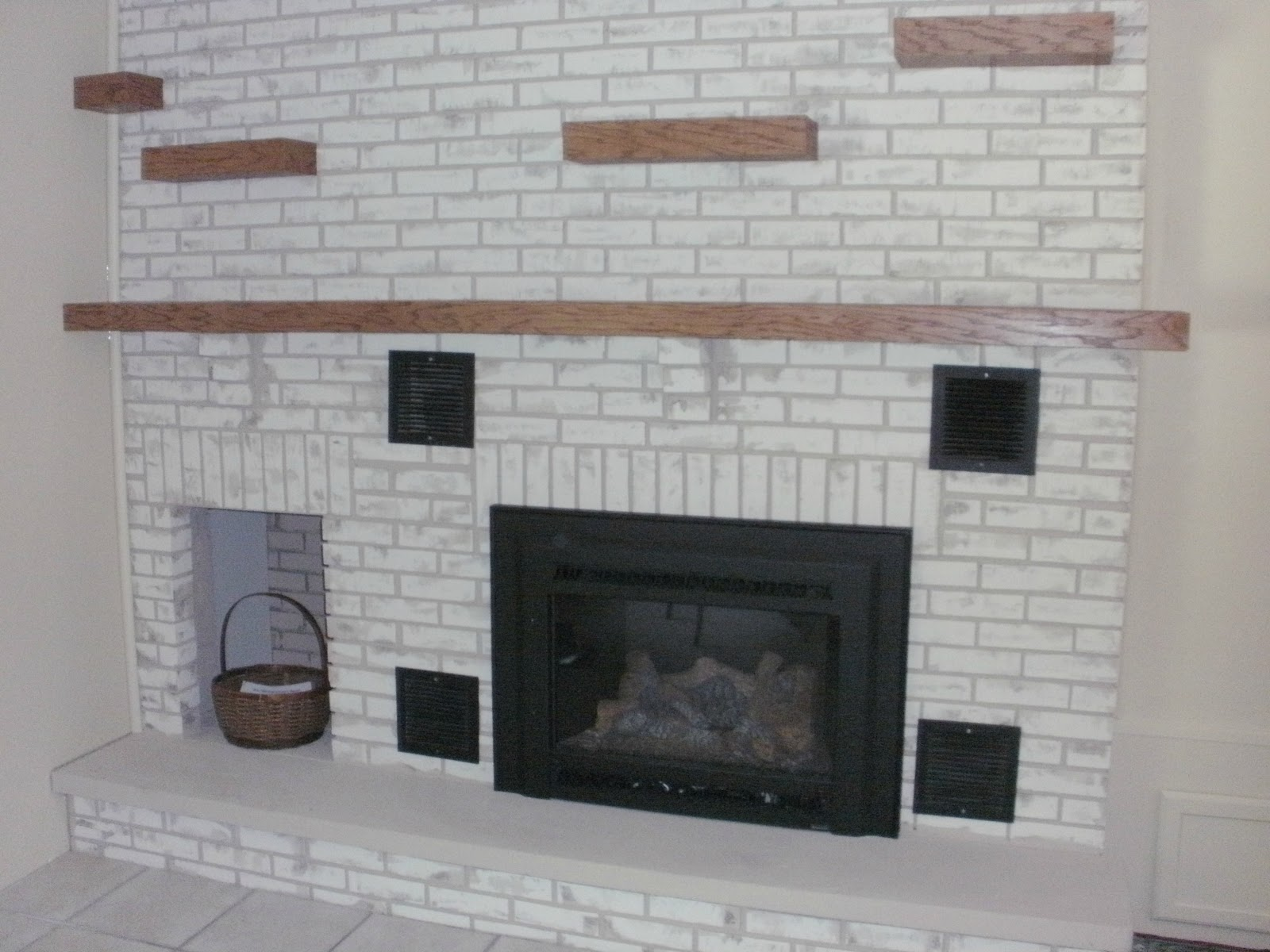 fireplace innovation a brick modern how resurfacing elegant makeover view lettered contemporary with reface home regarding to cottage design refinish the