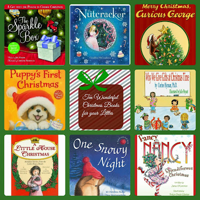 Ten Wonderful Christmas Books for Your Littles  {Reading List}