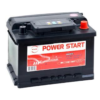Baterías usadas para vehículos