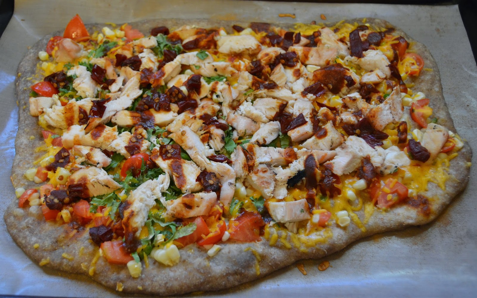 Chipotle Grilled Chicken Pizza