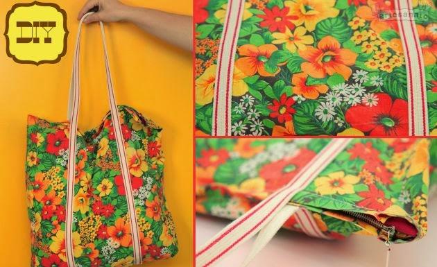 Bolsa De Tecido Com Alça De Bambu : A modista bolsas artesanais como fazer uma bolsa de