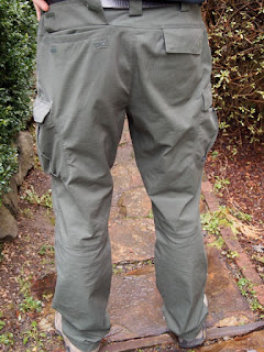 5.11 Tactical Pants Back
