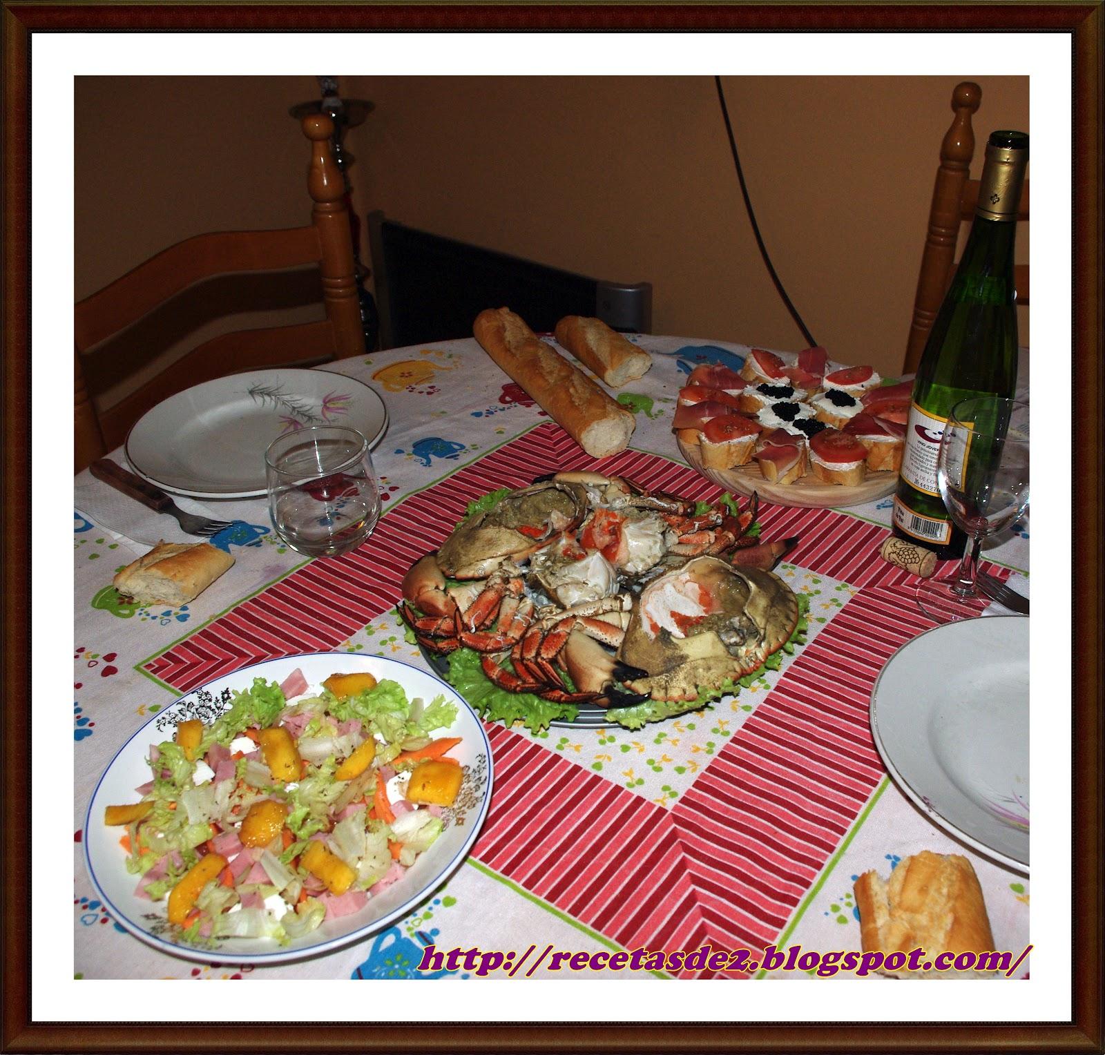 cena para aniversario: