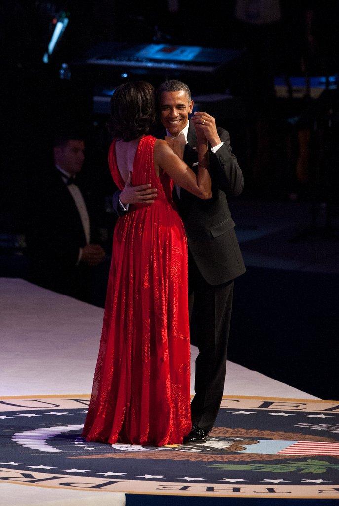 Celeb Diary Barack Amp Michelle Obama The Inaugural Ball