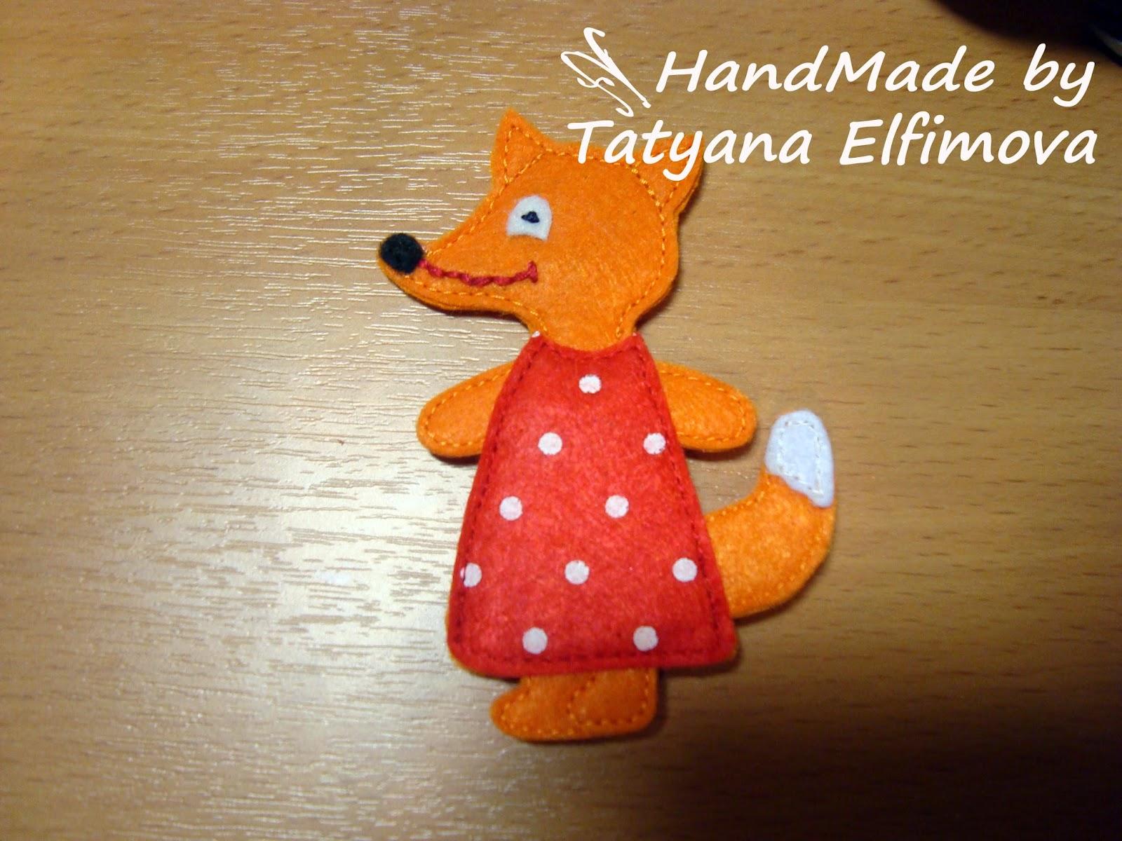 Пальчиковые игрушки из сказки теремок