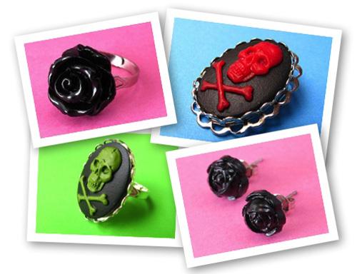 Gothic Halloween Jewelry