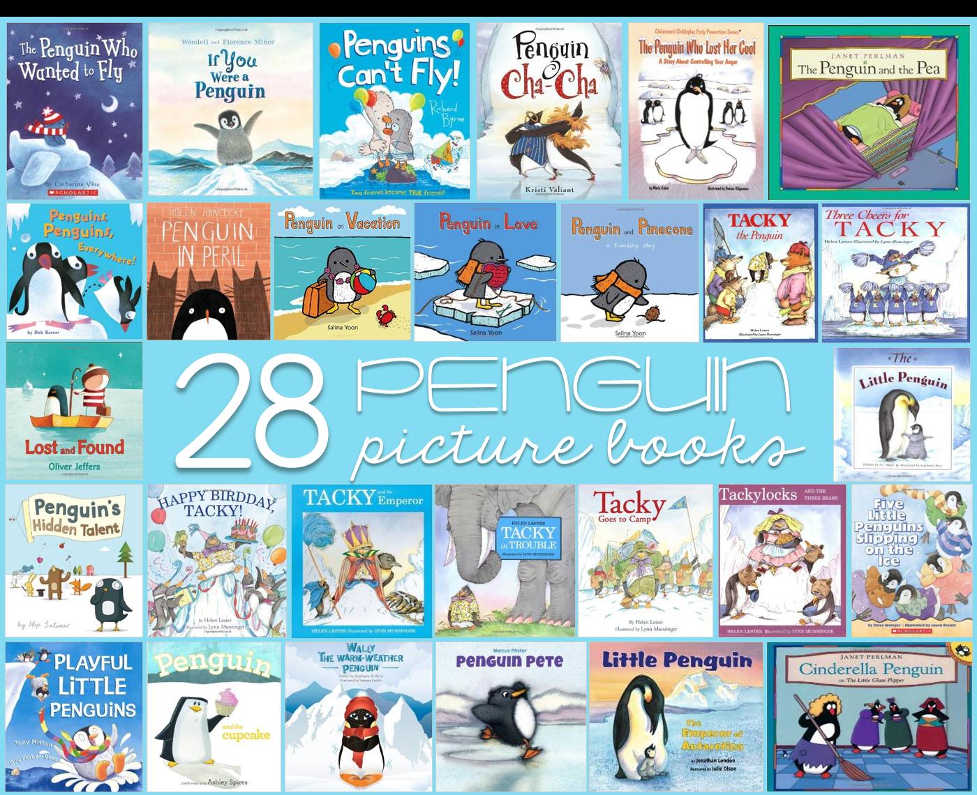 Warm weather penguins