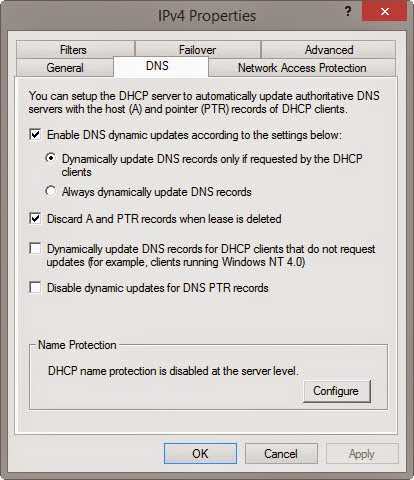 Dhcp records not updating dns
