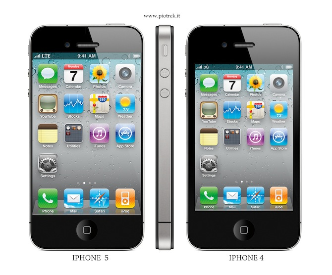 apple iphone 5 pictures. to rumours Apple iPhone 5