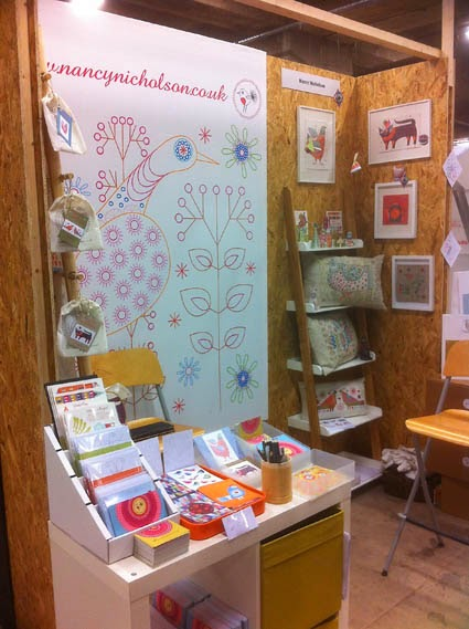 My stand at Makegood Festival 2014