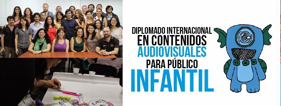 Diplomado en Contenidos Audiovisuales para Público Infantil