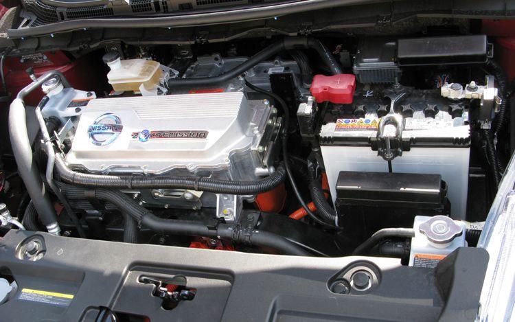 Nissan Pictures Nissan Leaf Motor