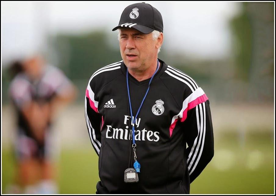 Sweater Training carlo ancelotti real madrid coach 2014-2015