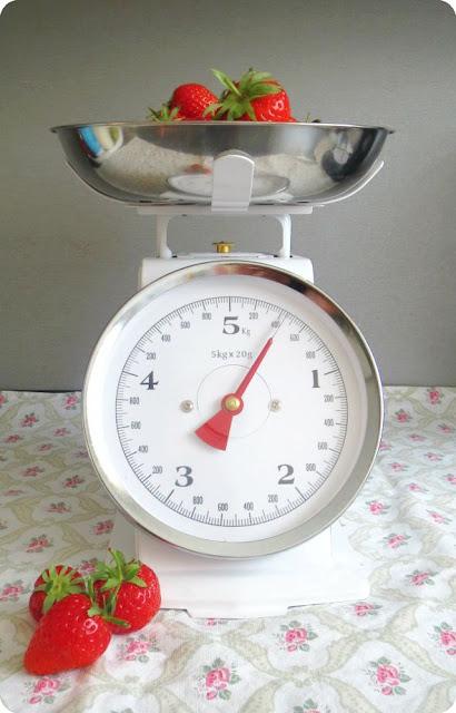 Küchenwaage retro