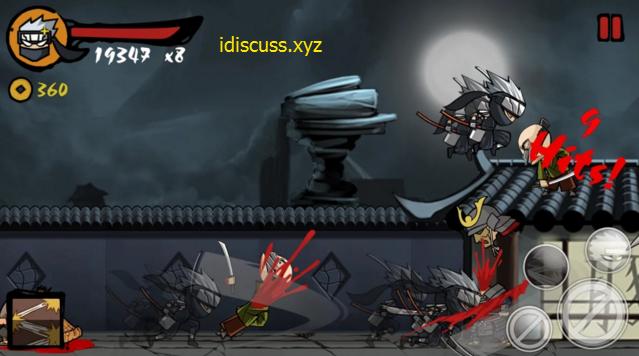 ninja revenge mod apk