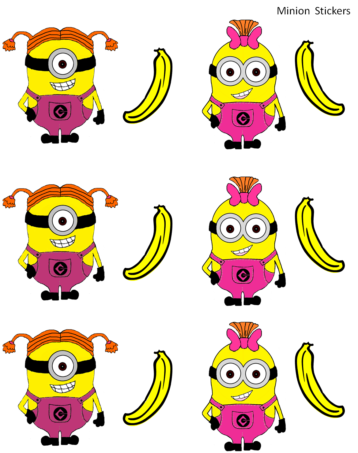 It is an image of Dynamite Minion Printable Cutouts