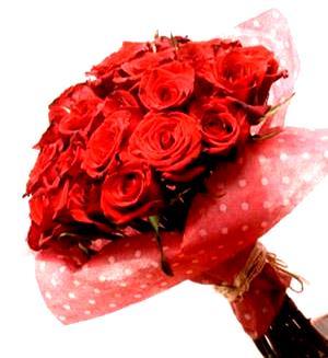 Foto de Ramo de rosas rojas