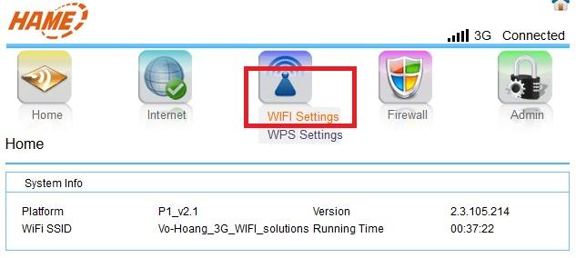 Chi tiết cách setup Router 3G HAME