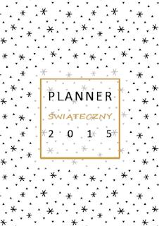 planner świąteczny 2015 | lvlupstudio