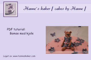 Bamse med kjole tutorial