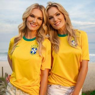 Celebridades entram em clima de Copa do Mundo para torcer pela seleção brasileira