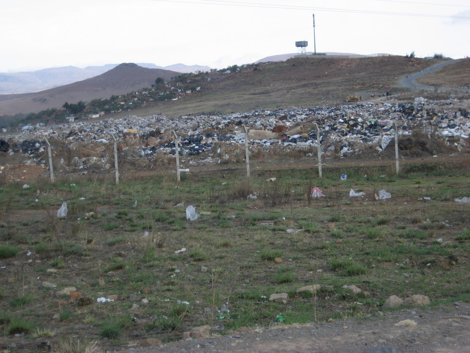 Kokstad South Africa  city photos : This is the Kokstad dump site that is located in Shayamoya. You will ...