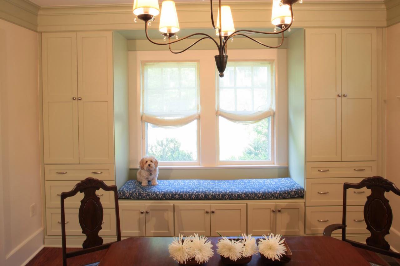 Plainly life siedzisko pod oknem window seat for Dining room window seat ideas