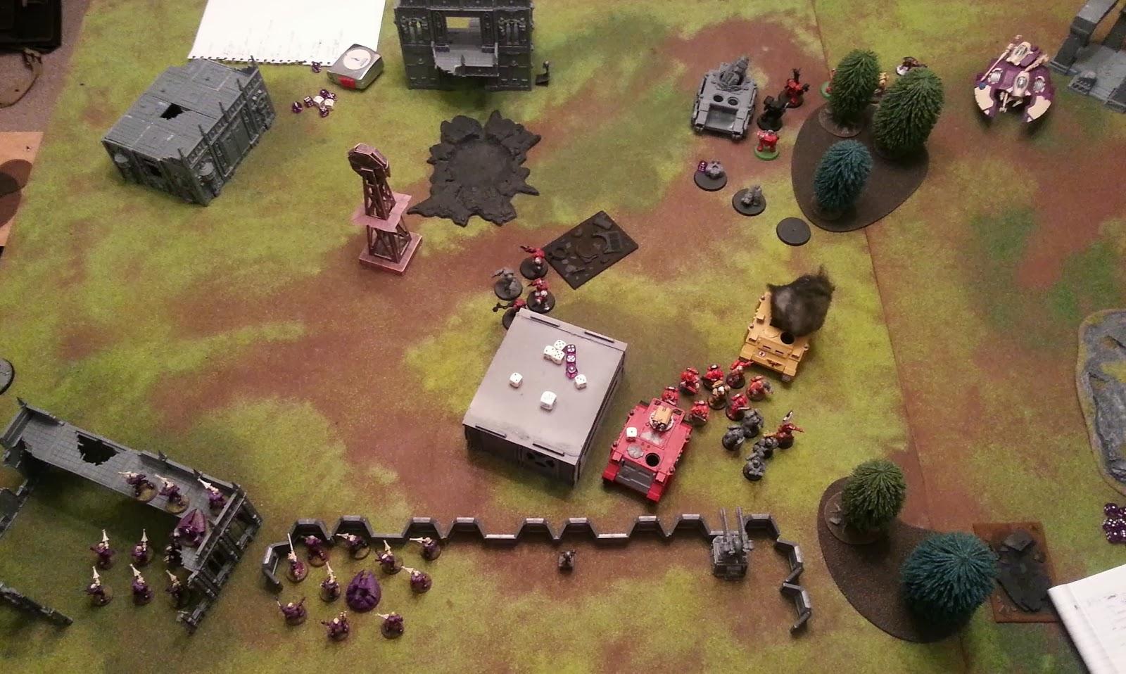 Fist of the emperor eldar vs imperial fists 1850 tournament