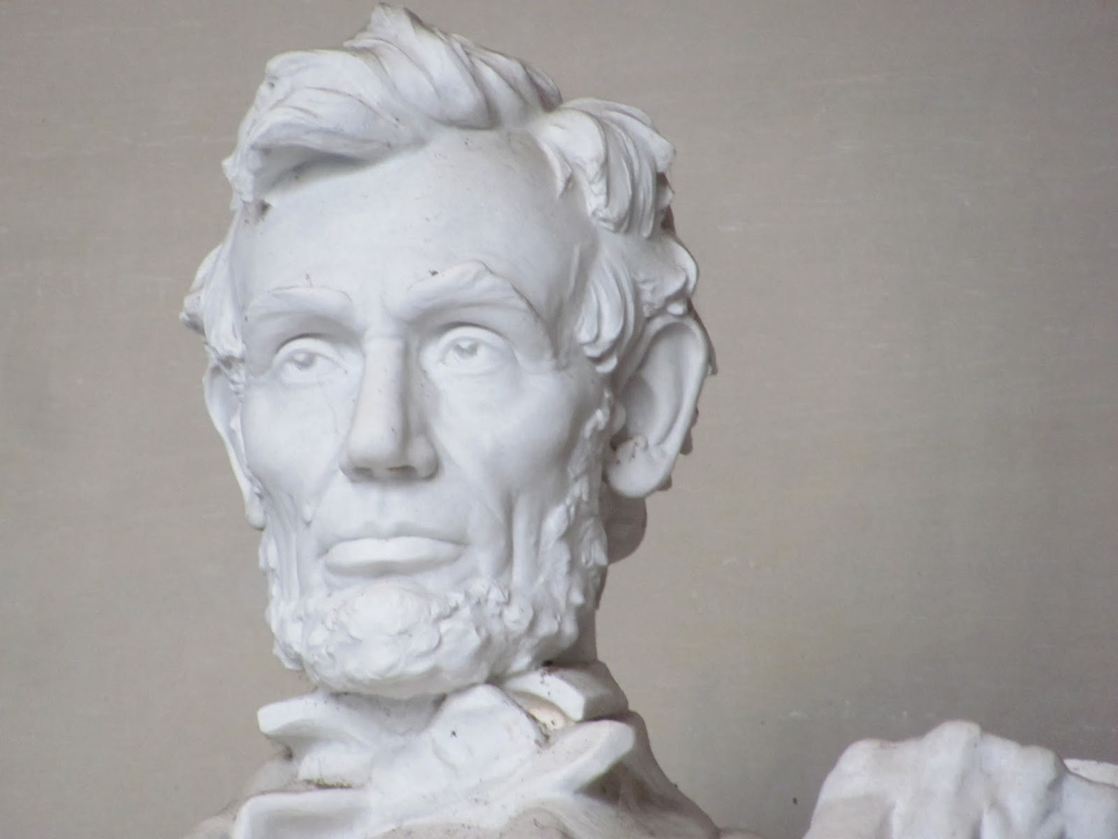 Lincoln Memorial statue closeup photo