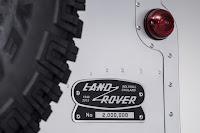 Land Rover Defender 90 Station Wagon '2,000,000' (2015) Badge Detail