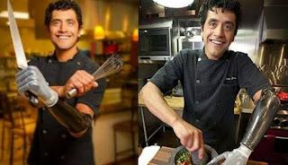 Eduardo Garcia, Chef Berlengan Robot