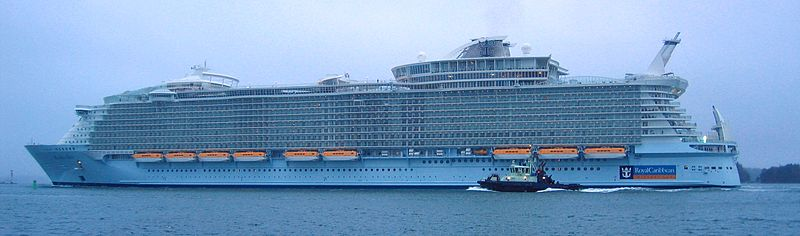Prozine top 10 largest cruise ships in the world for Best cruise in world