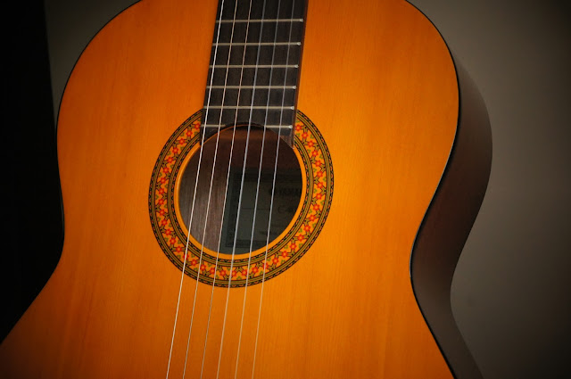 classical guitar copyright free picture