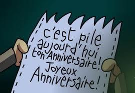 Blog David Moncoutie Happy Birthday