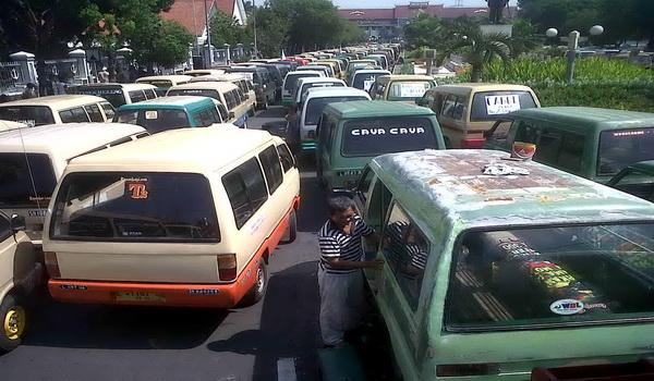 Tarif Angkot Surabaya