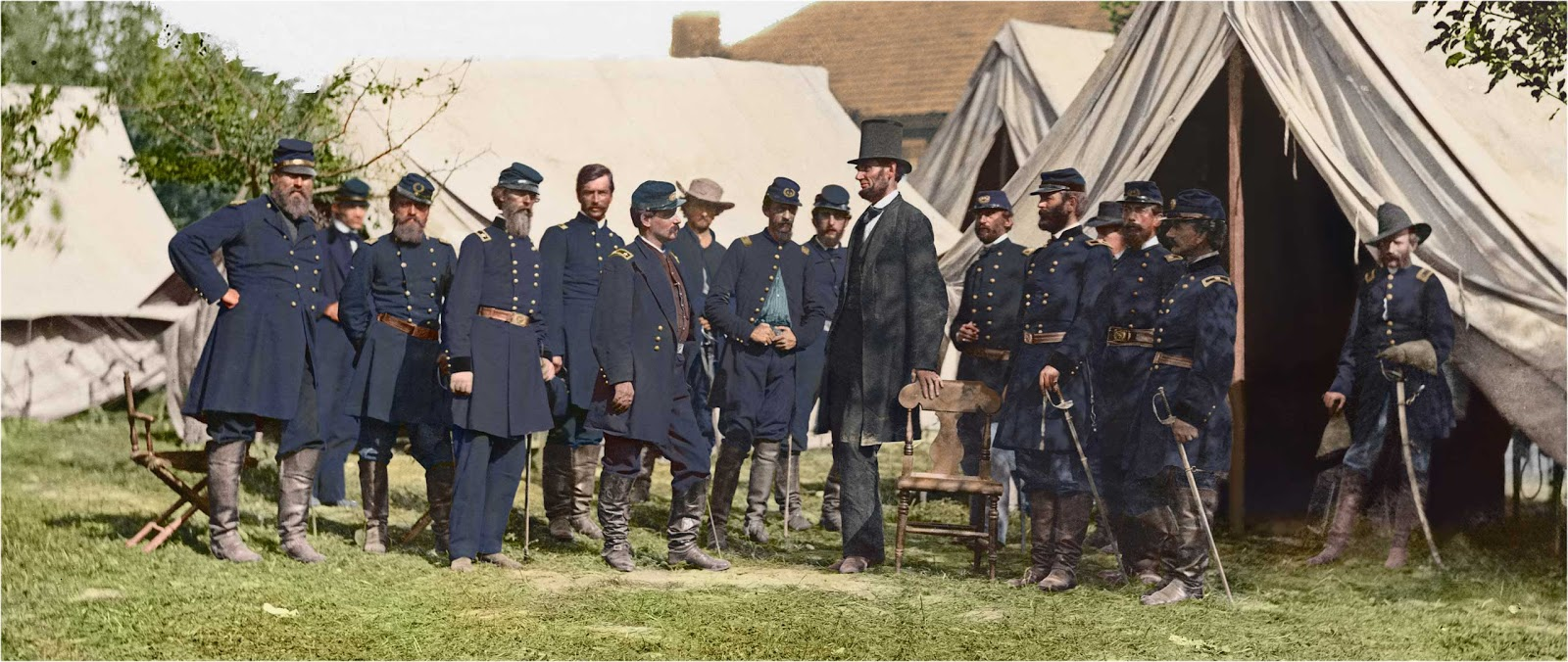 The Civil War In Color 28 Stunning Colorized Photos That Civil War Pictures In Color