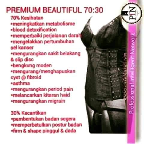 PREMIUM BEAUTIFUL ( 70% KESIHATAN + 30% KECANTIKAN )