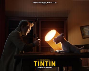 #12 Adventures of Tintin Wallpaper