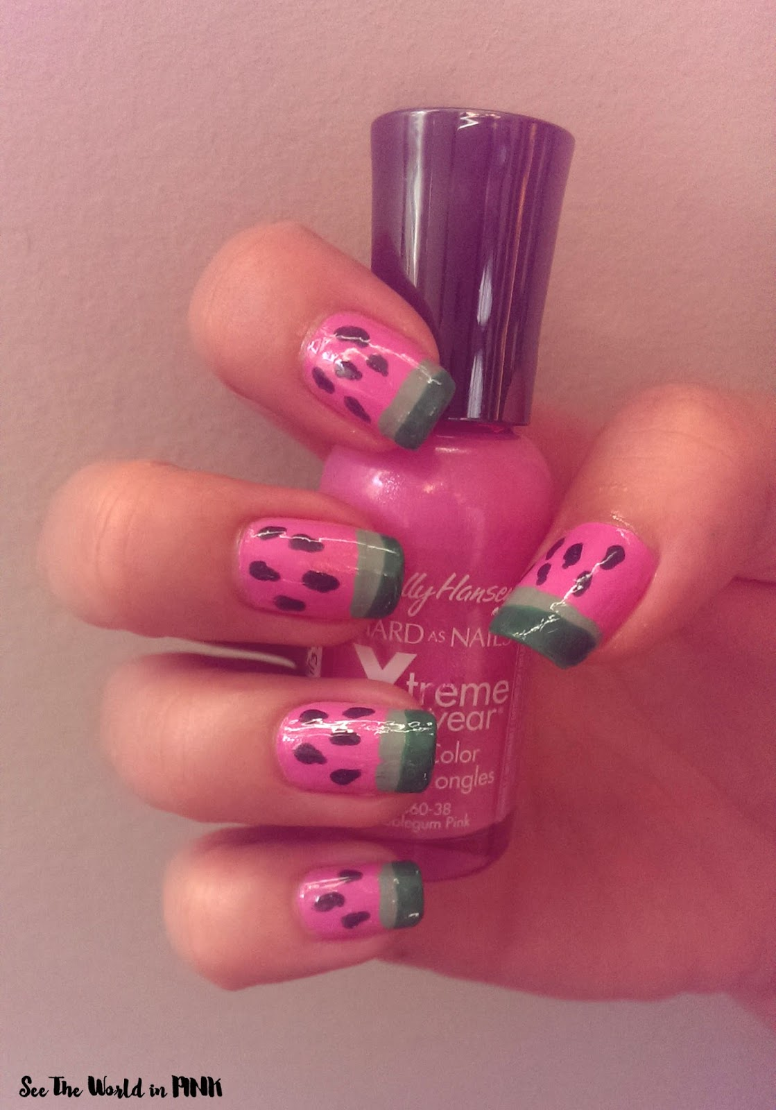 Manicure Monday - Nature Republic Hand Mask Review and Watermelon ...