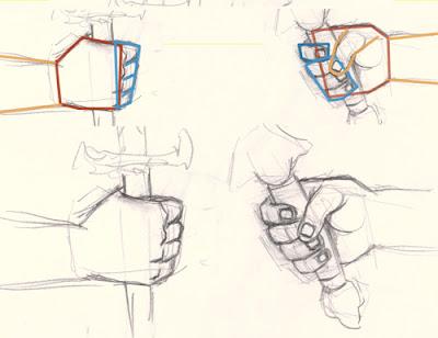 Hand Holding Something Drawing Traffic Club